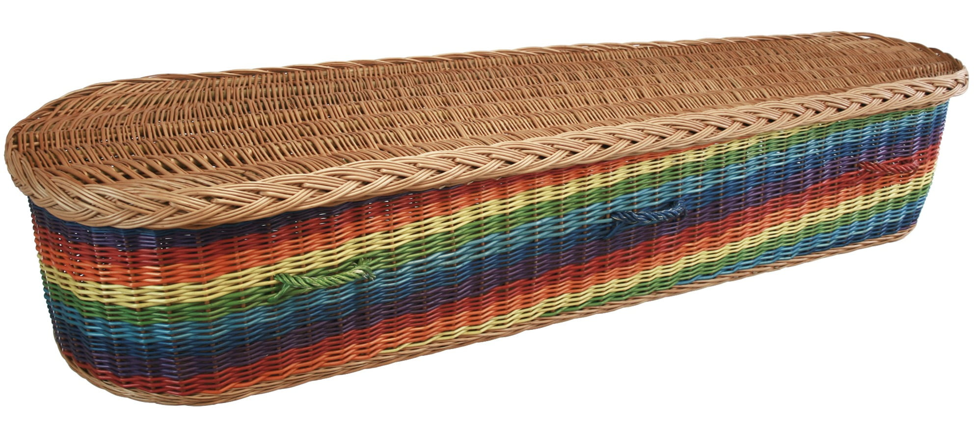Rainbow coffin